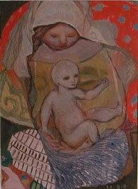 Kai Fjell, Mor og barn
