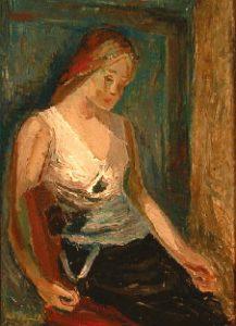 Kai Fjell, Ung kvinne