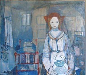 Kai Fjell, Kvinne med mugge