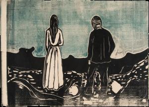 Edvard Munch De ensomme