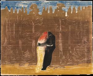 Edvard Munch Mot skogen I, 28
