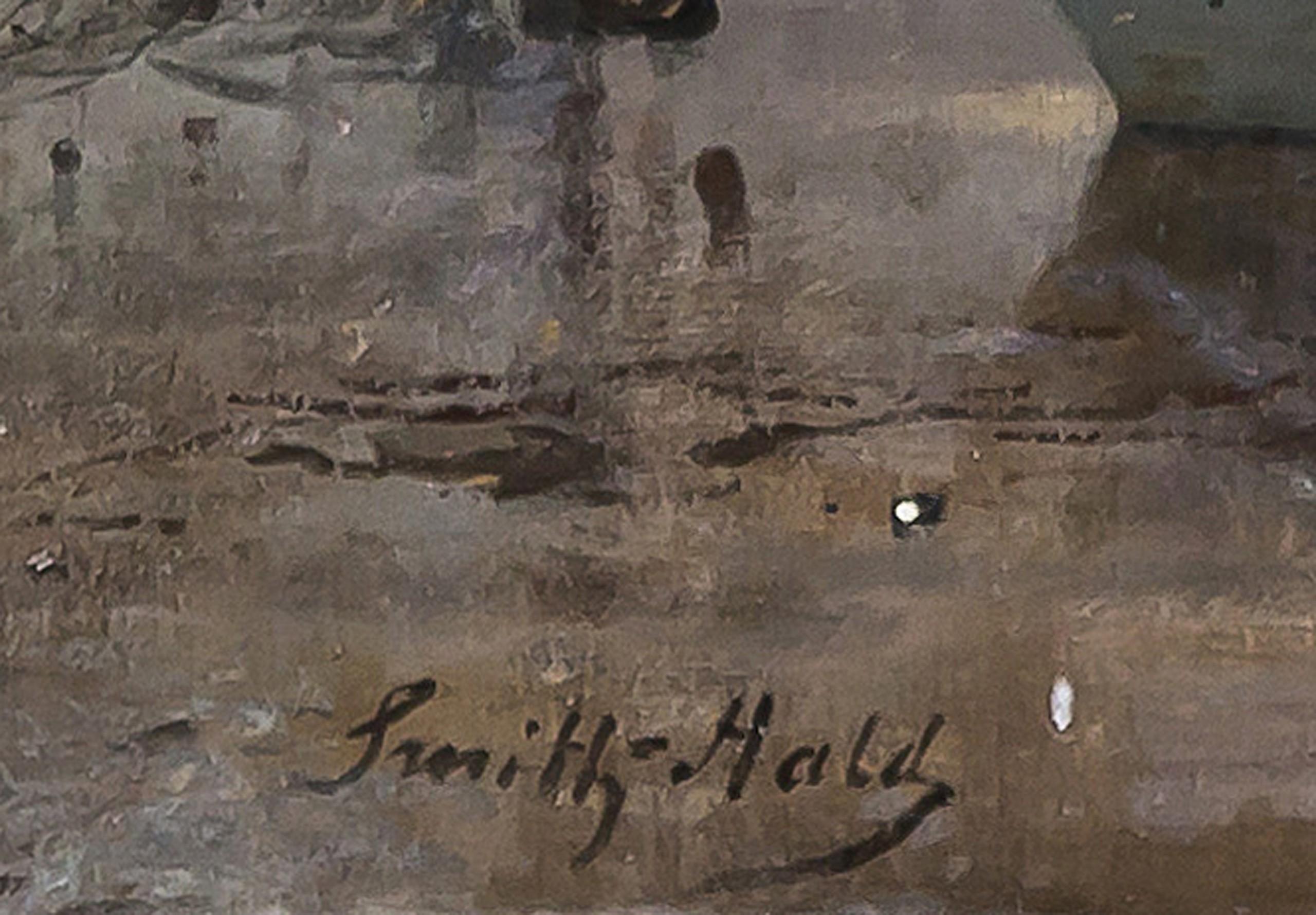 The Gundersen Collection er en imponerende samling av kunst og norske bondeantikviteter. Store deler av samlingen er stilt ut på hotellet Vestlia Resort i fjellbygda Geilo, Norge. The Gundersen Collection har også Norges viktigste private samling med grafikk av Edvard Munch. Ikke minst flere håndkolorerte grafiske verk. Smith-Hald skildret ofte strand- og sjøbilder med staffasje av fiskere og sjøfolk som ble svært populære. I de tidlige 1880-årene representerte Smith-Hald norsk landskapskunst nesten alene på Paris-salongen, der han årlig deltok.