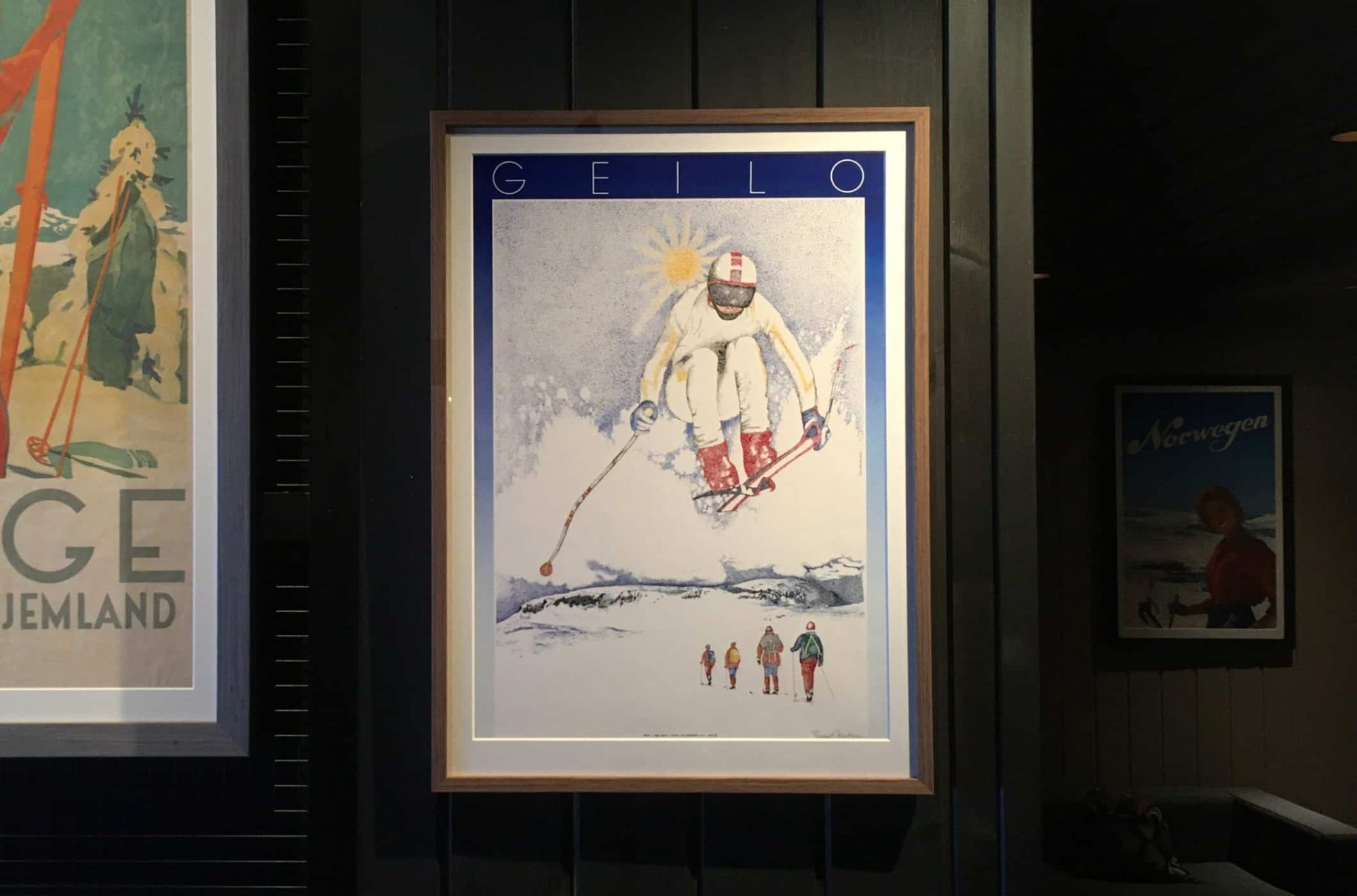 Geiloplakat: Trond Andersson er kunstneren bak plakaten fra 1986. Plakaten ble representert på Plakatbiennalen i Warszawa i1986 og henger på plakatmuseet i Polen.